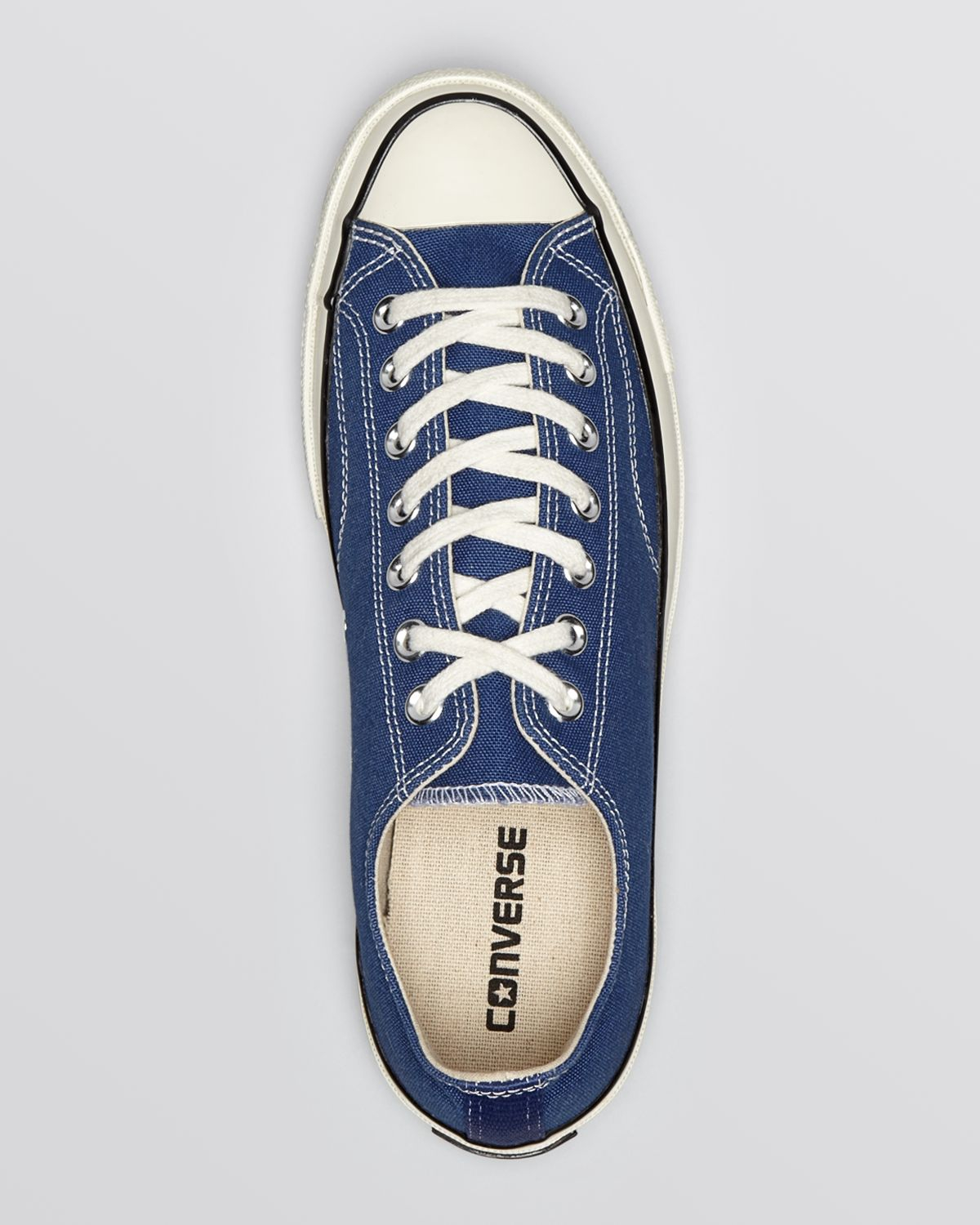 lyst converse chuck taylor all star 39 70 low top sneakers. Black Bedroom Furniture Sets. Home Design Ideas