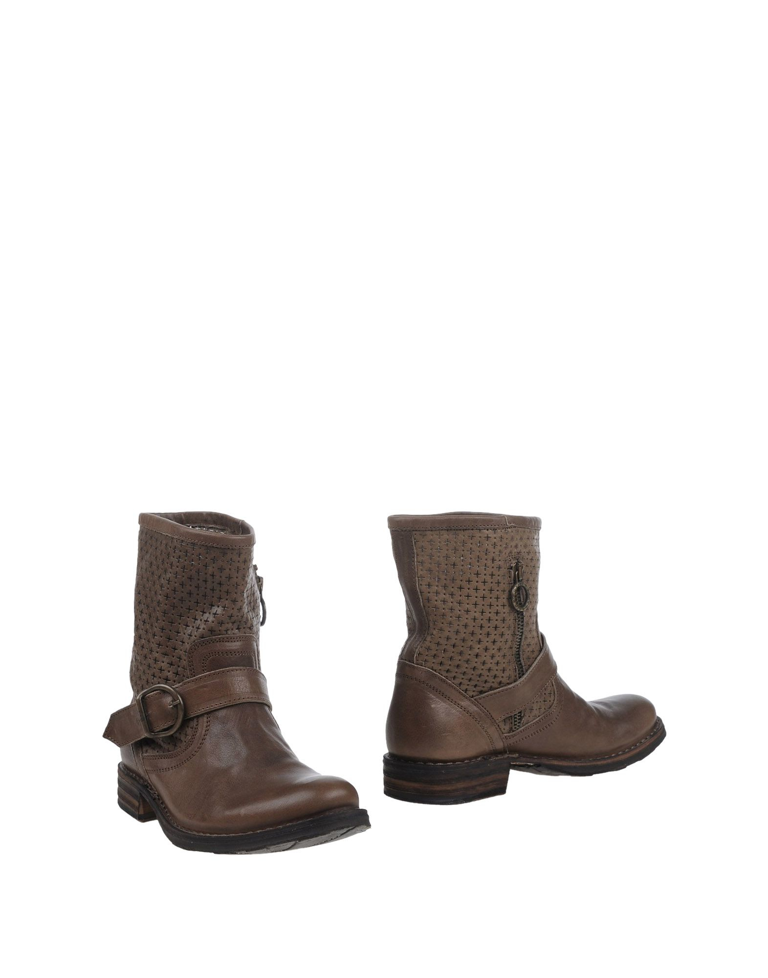 fiorentini baker ankle boots in brown brown lyst
