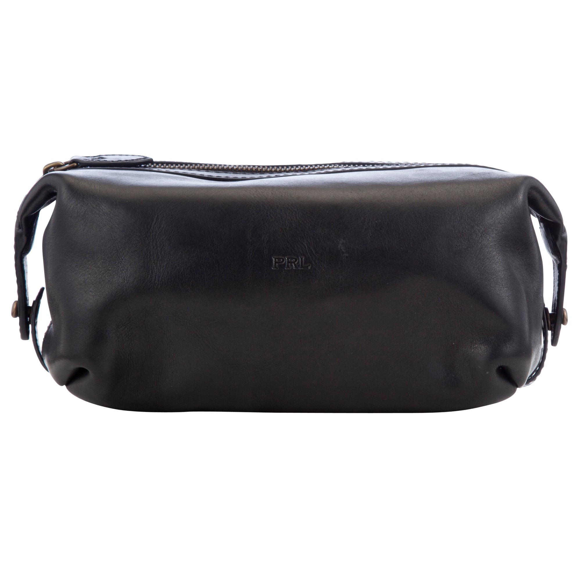 Polo Ralph Lauren Leather Wash Bag in Black for Men - Lyst 9ff1622546a47