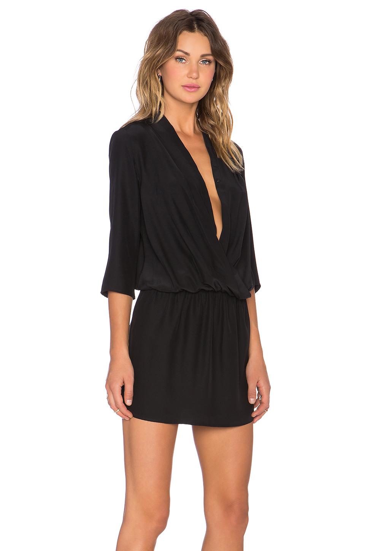 Lyst Amanda Uprichard Paloma Dress In Black
