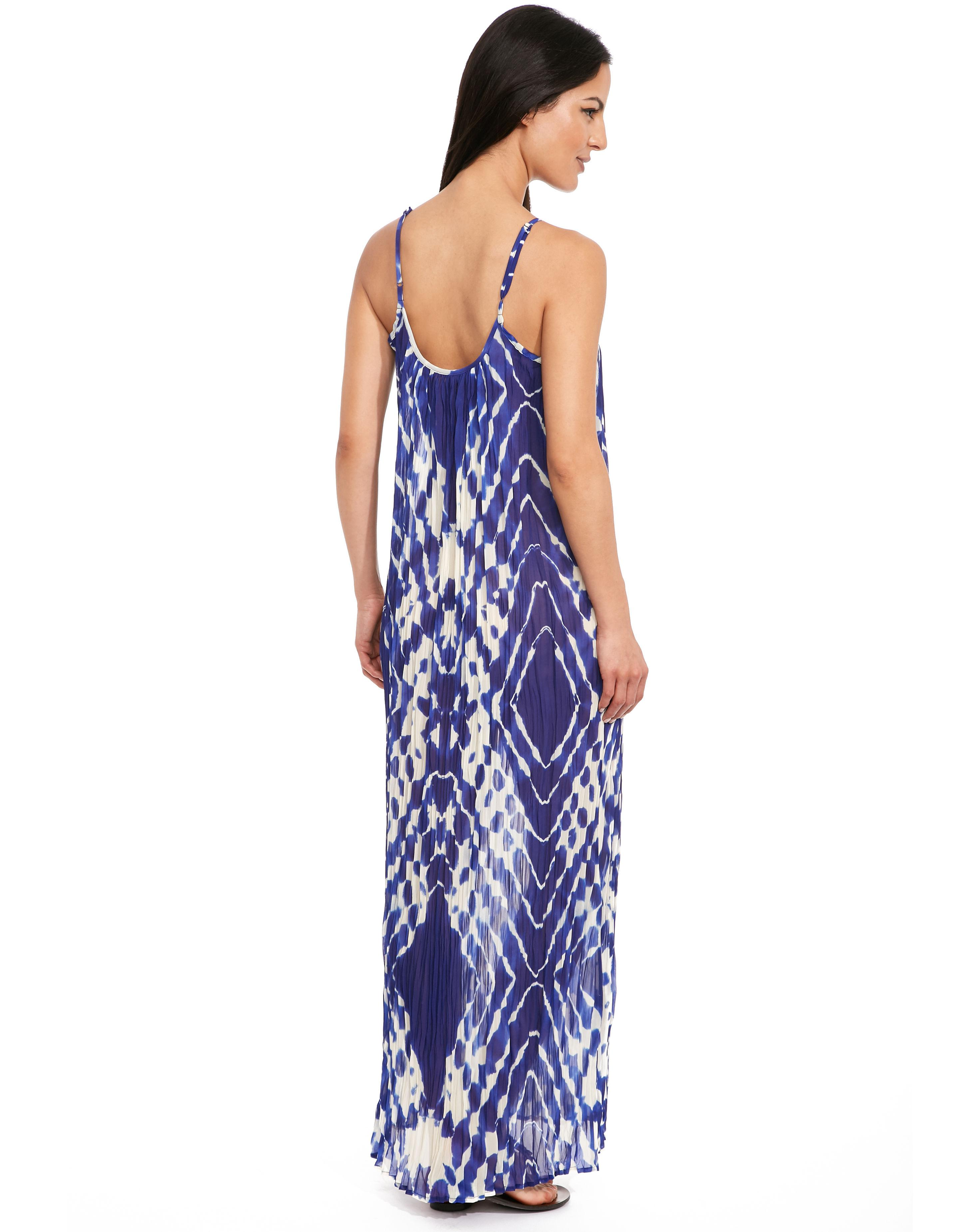 8ef8fda82d Figleaves Kaya Beach Maxi Dress in Purple - Lyst