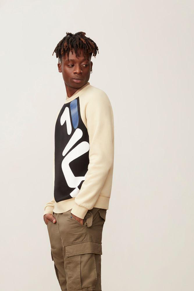 4e4125f14be5 Fila - Multicolor Emmett Sweatshirt for Men - Lyst. View fullscreen