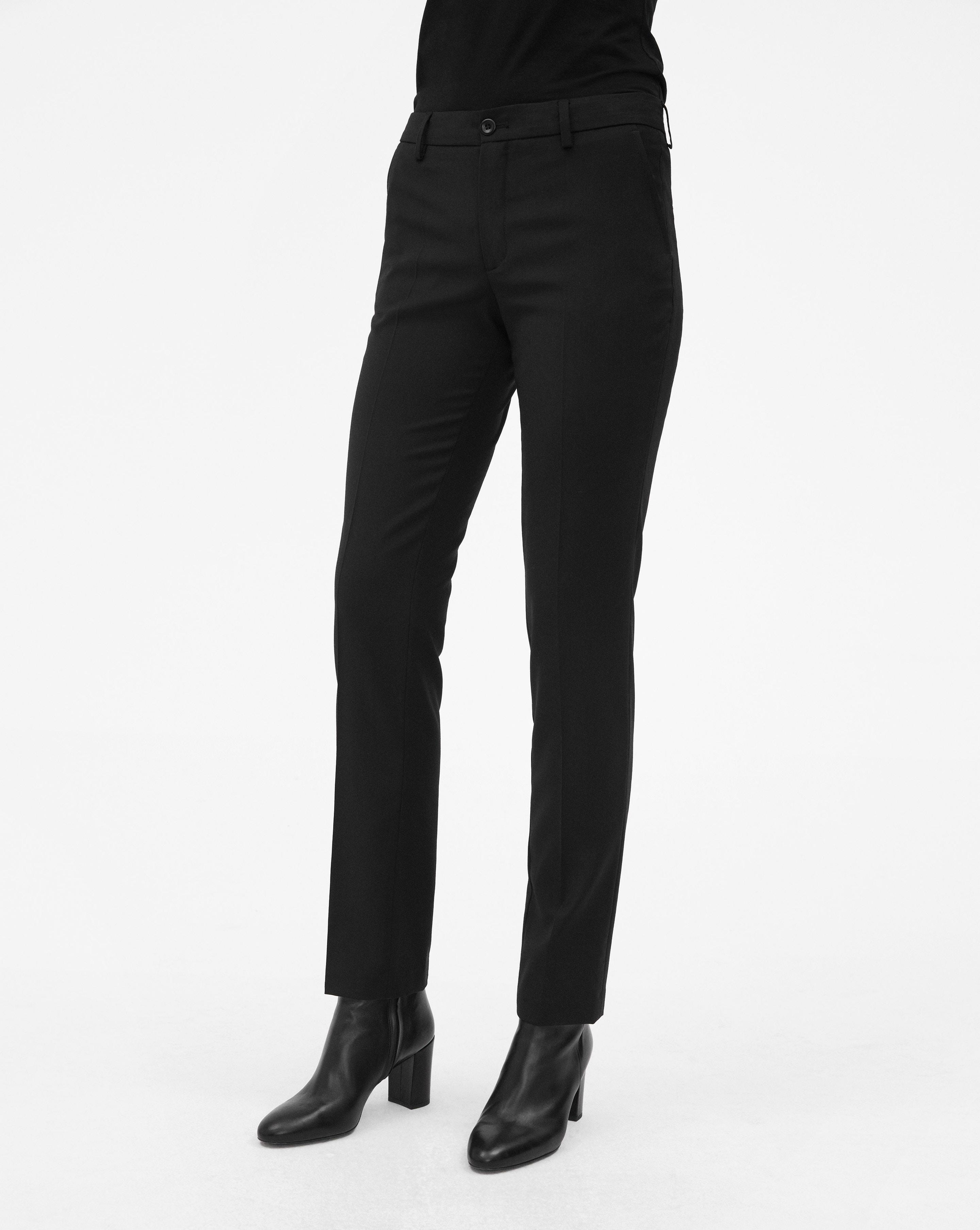 Lyst - Filippa K Luisa Cool Wool Slack Black in Black f4fffcabc7275