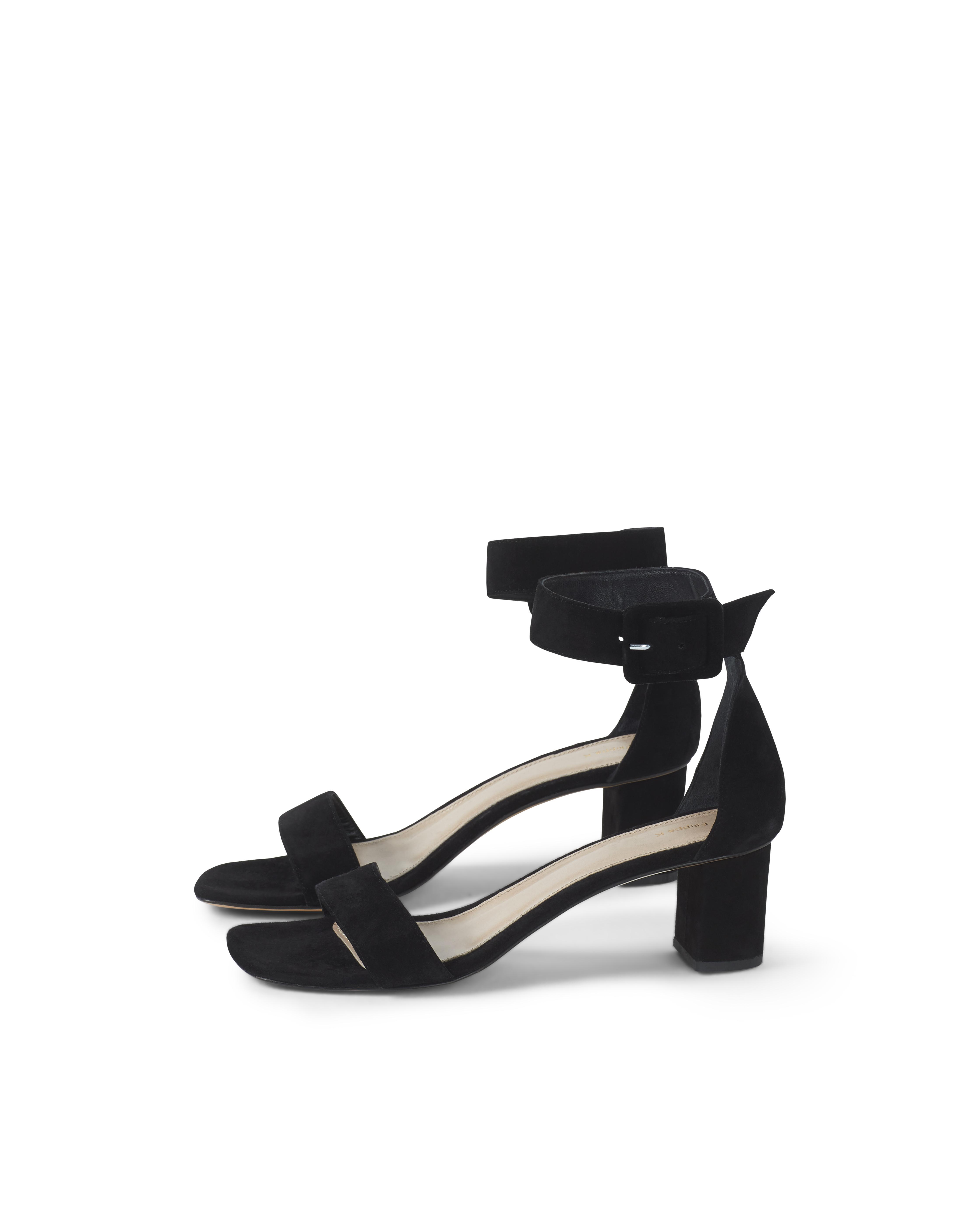 179b2288485c0d Filippa K Frances Mid Heel Sandal in Black - Lyst
