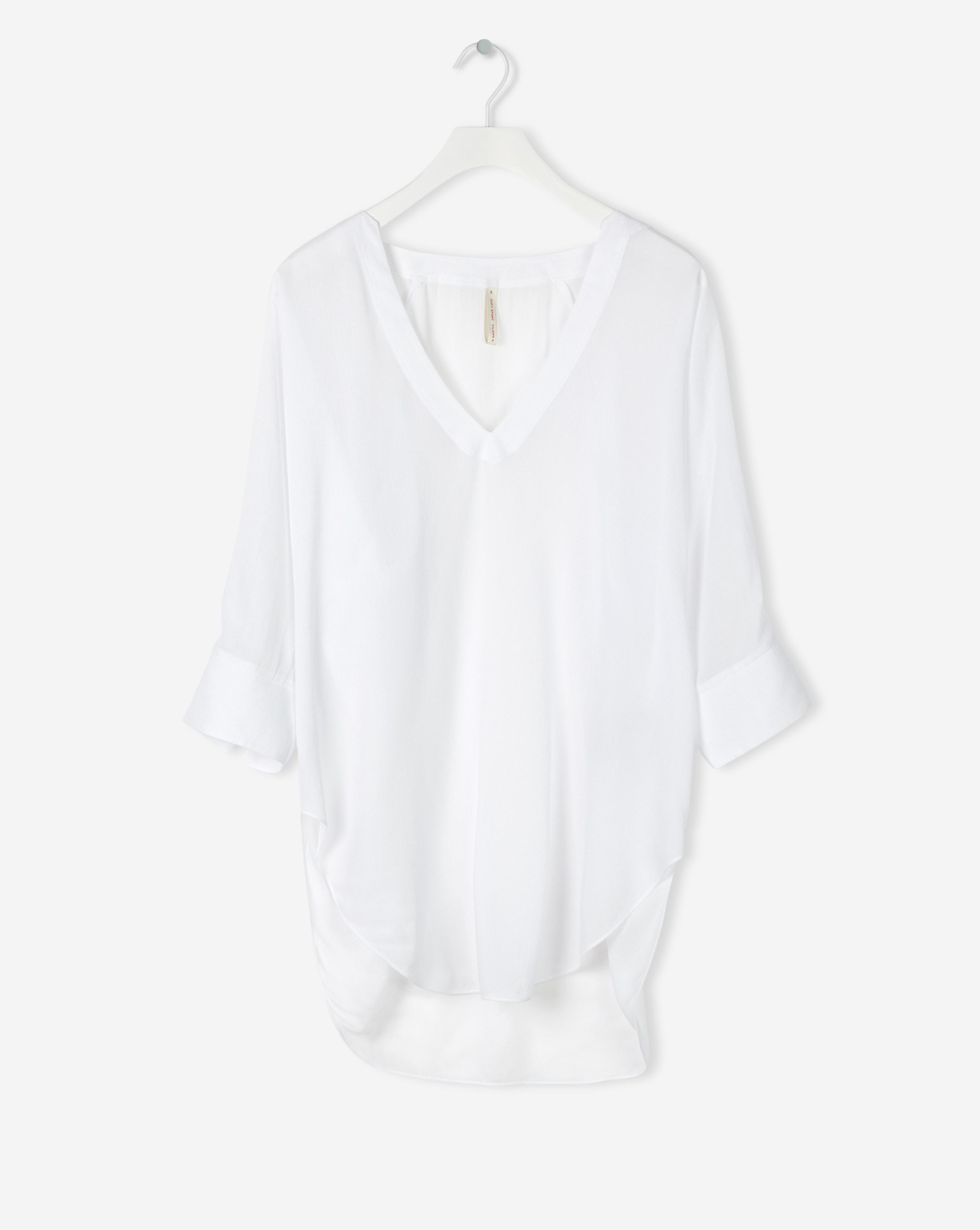 9a9cd7e3d4d Lyst - Filippa K Zoe Tunic Top White in White