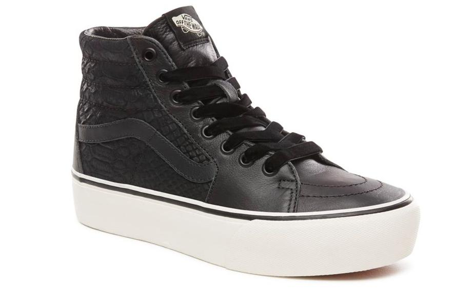Lyst - Vans Unisex Ua Sk8 Hi Platform 2.0 Leather Sneakers 5538155cd