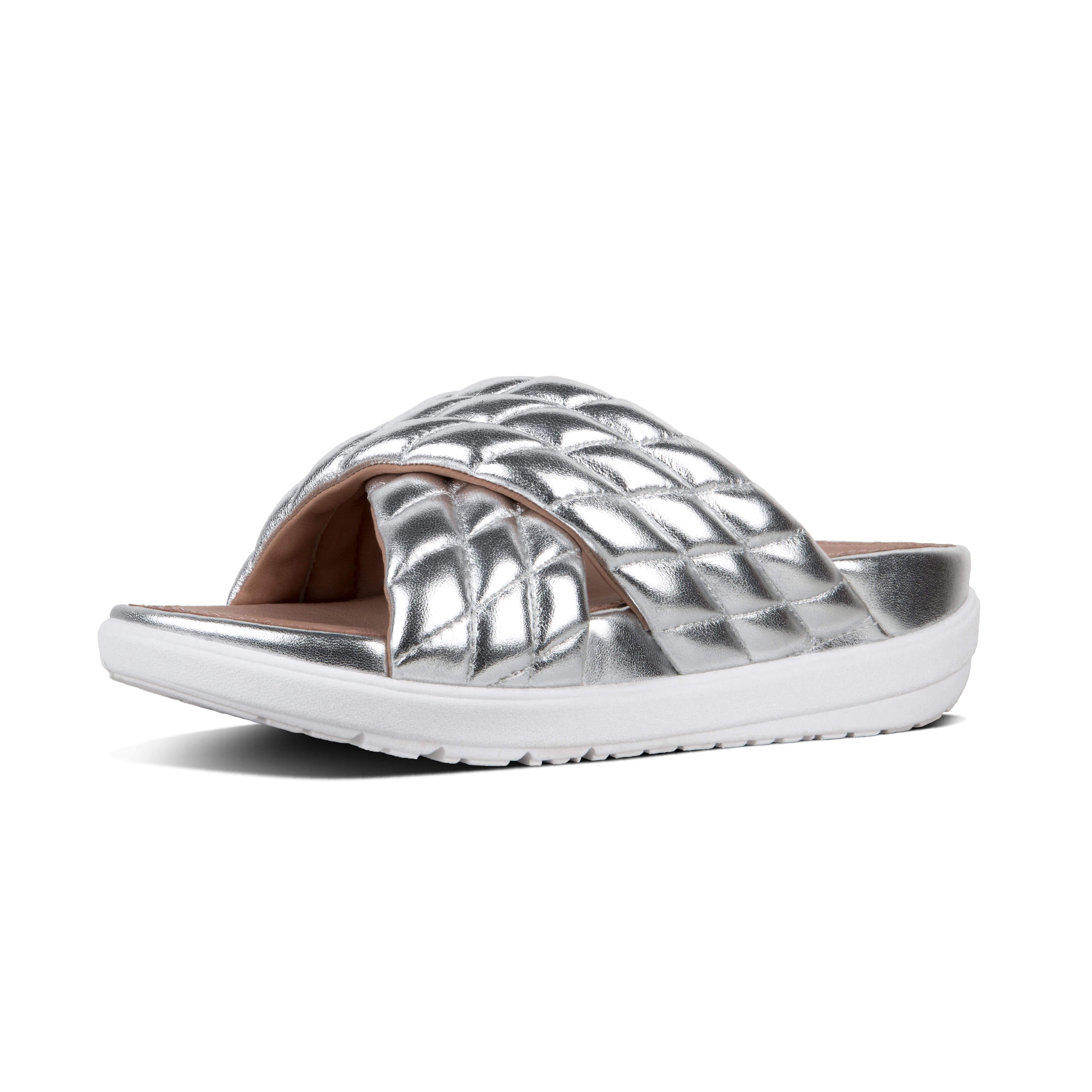 27fc5cb9917d7 Lyst - Fitflop Loosh Luxe in Metallic