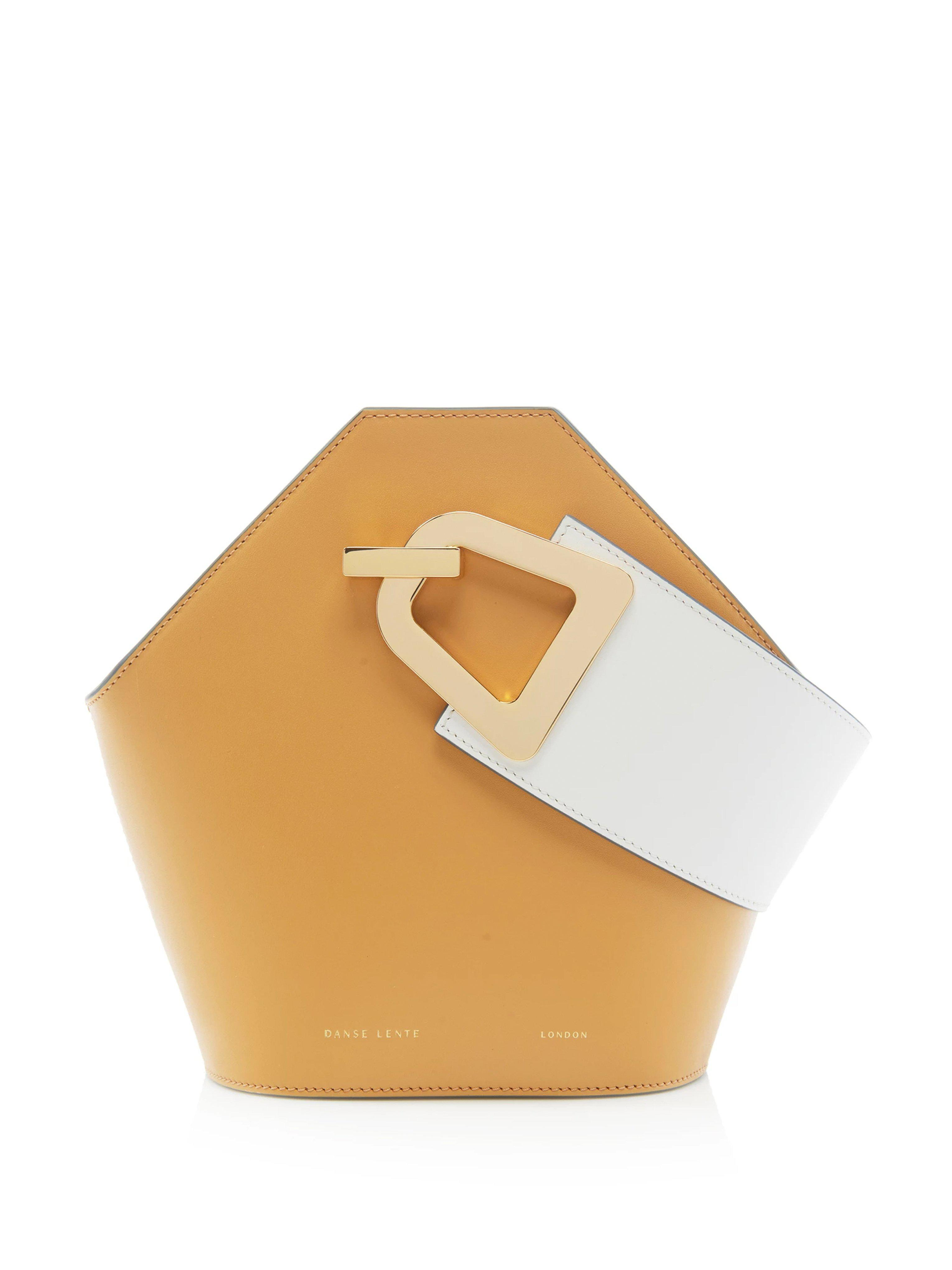 e86f1b2e6ee7 Lyst - Danse Lente Sand Leather  mini Johnny  Bag