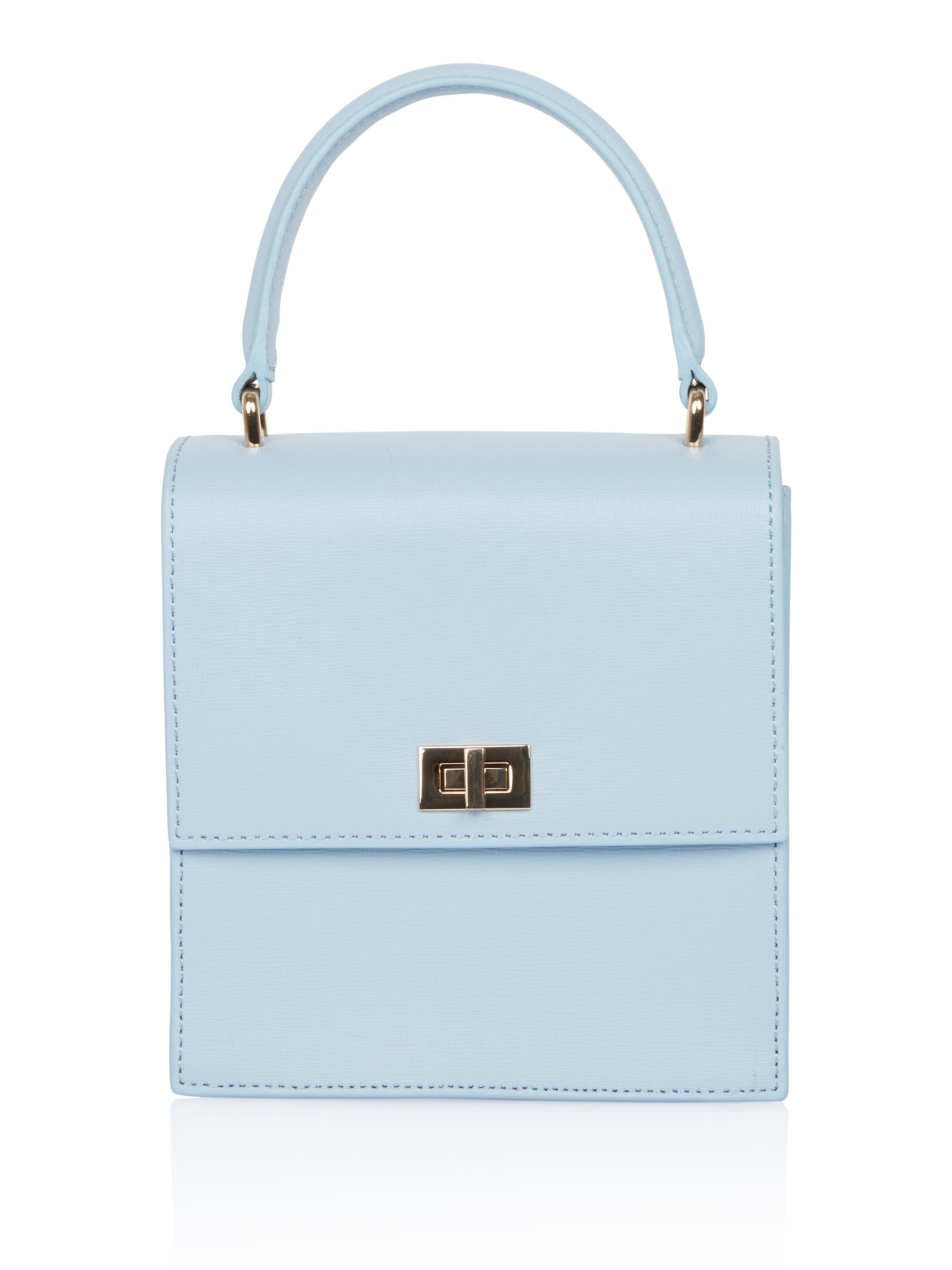 3df849a8b6e1 Lyst - NEELY   CHLOE Mini Lady Bag in Blue