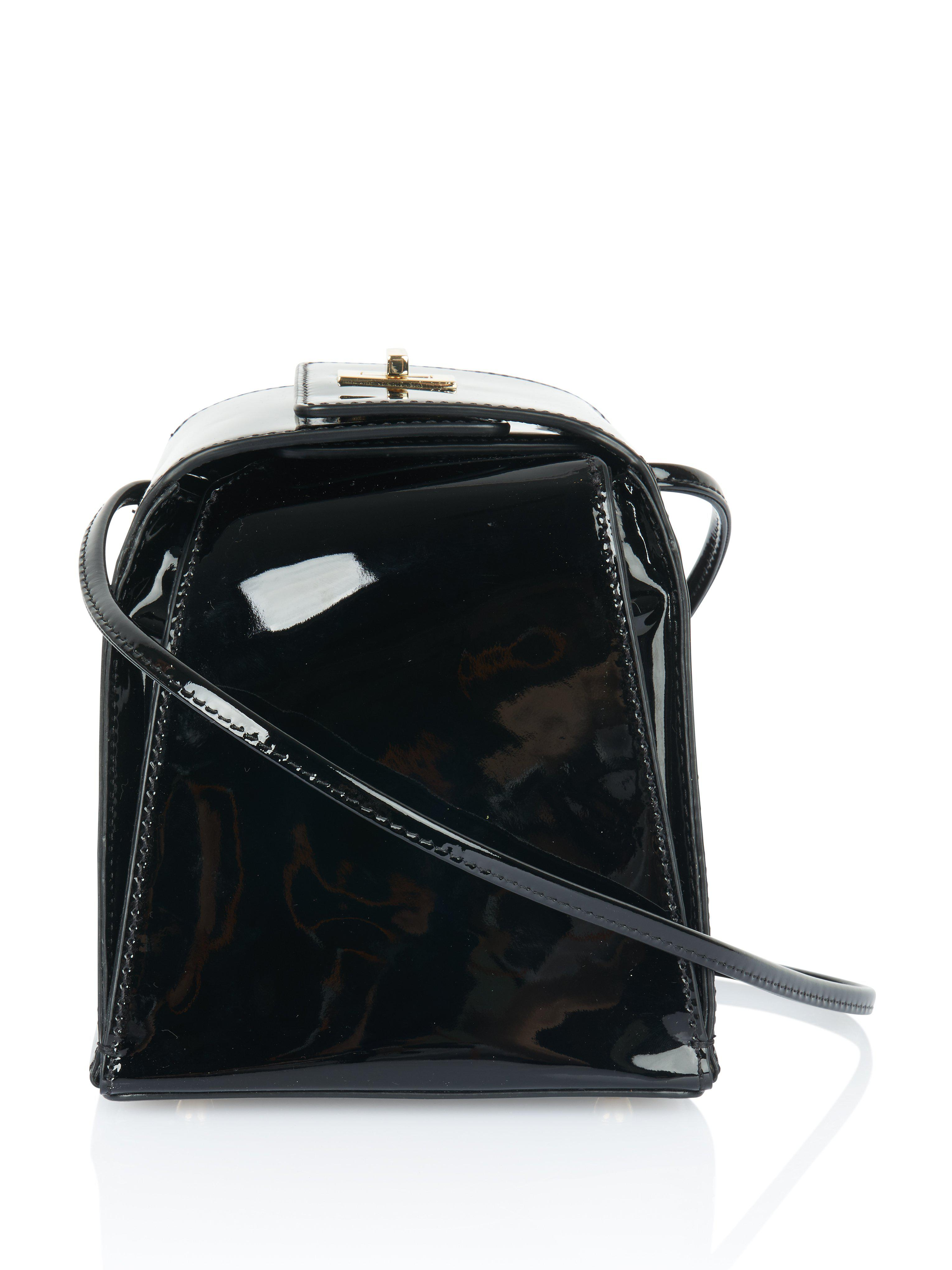 b726c5d65cdd Lyst - NEELY   CHLOE Pyramid Bag in Black
