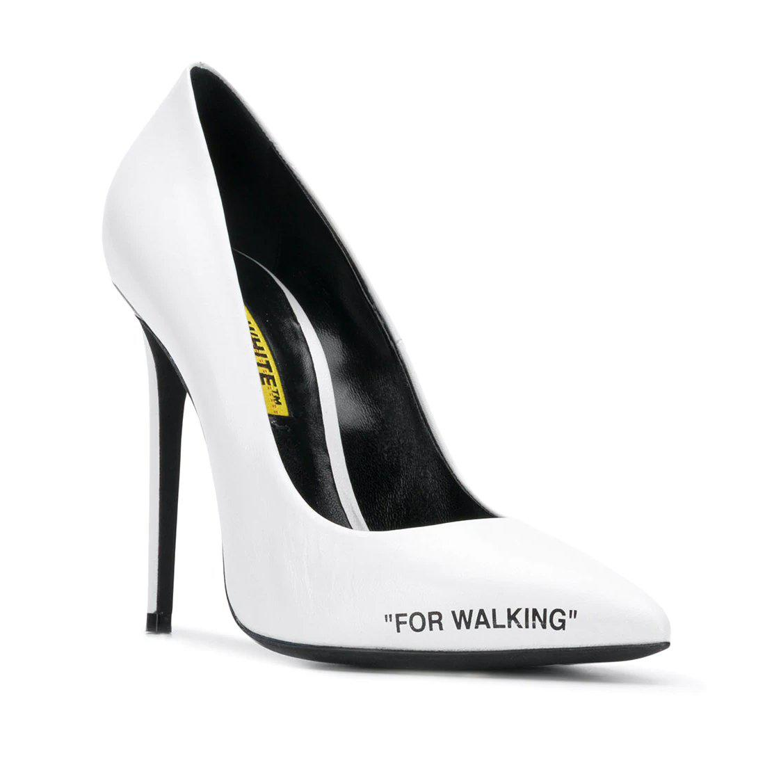 5c41c67d1 Off-White c/o Virgil Abloh White High Heel Pumps By in White - Lyst