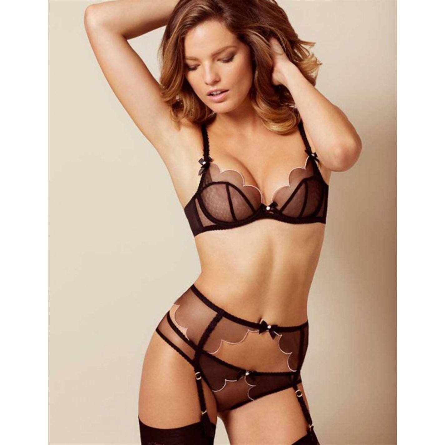 Agent Provocateur - Black Lorna Suspender - Lyst. View fullscreen 9982f54eb