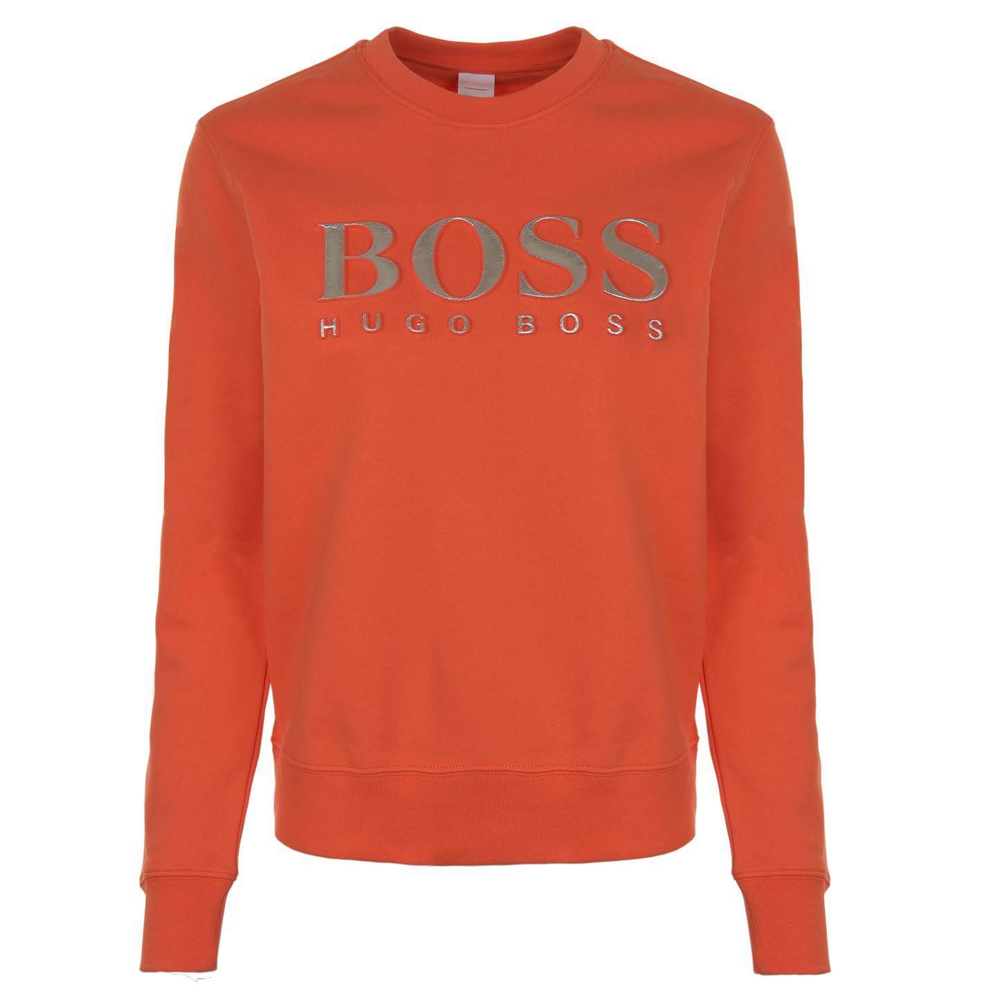 287f23d3e BOSS by Hugo Boss Talaboss Sweatshirt in Orange - Lyst