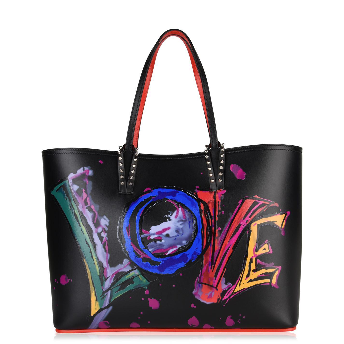3e272514f10 Lyst - Christian Louboutin Cabata Love Tote Bag in Black - Save 50%