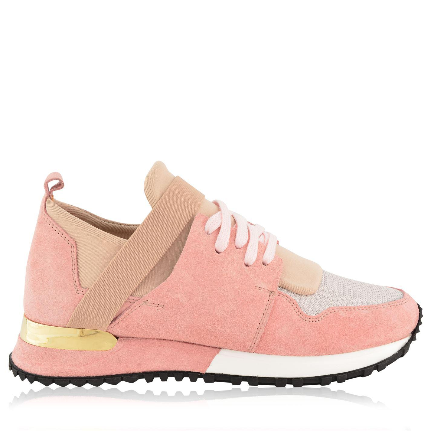 f7654427f4d8 Lyst - Mallet Low Top Elast Trainers in Pink