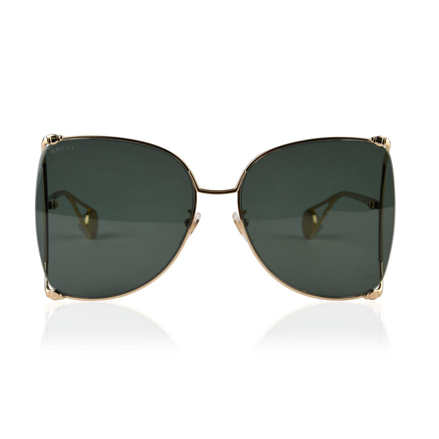 a54b4a58179 Gucci. Women s Gg0252s Round Frame Sunglasses