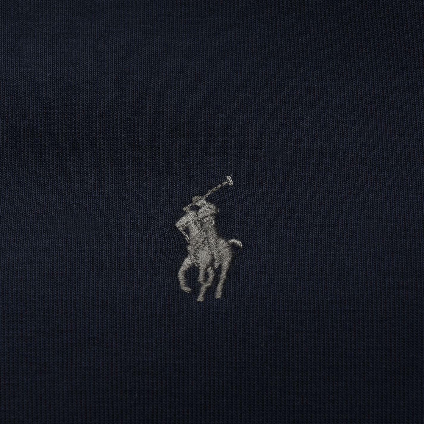 881d100685b29 Polo Ralph Lauren - Blue Zipped Logo Hooded Sweatshirt for Men - Lyst. View  fullscreen