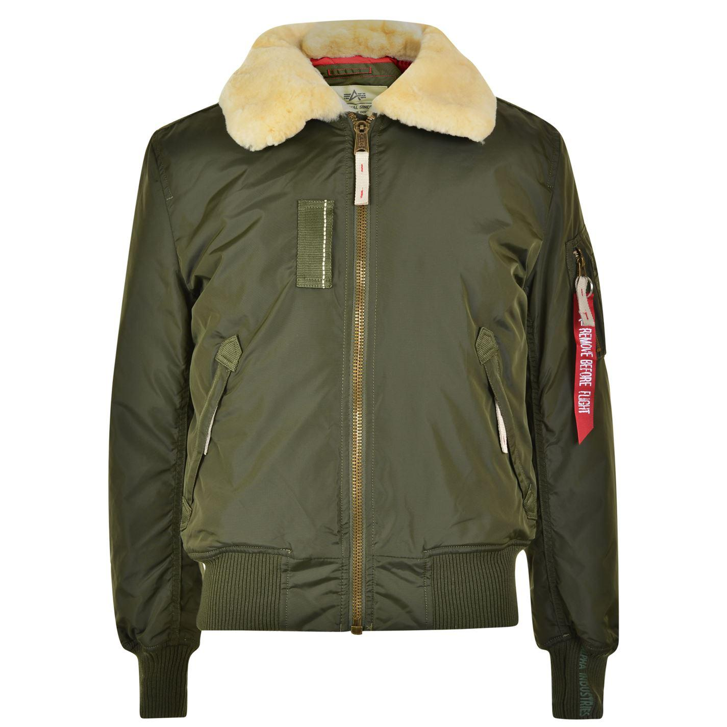 Alpha Industries Ma 1 Injector Iii Bomber Jacket in Green for Men - Lyst 5f3eb72d6d1f