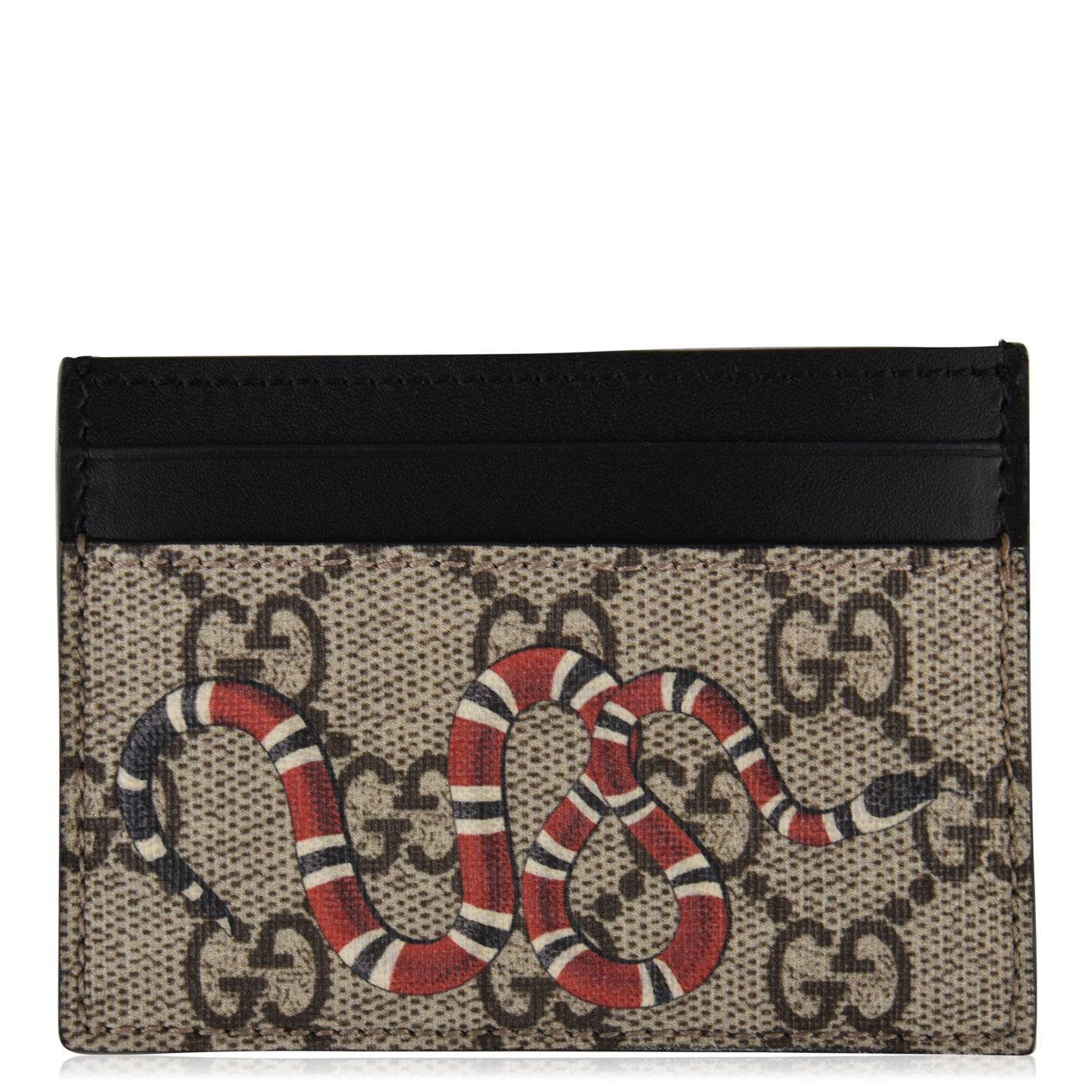 795bed79ed8e Gucci Kingsnake Wallet for Men - Lyst