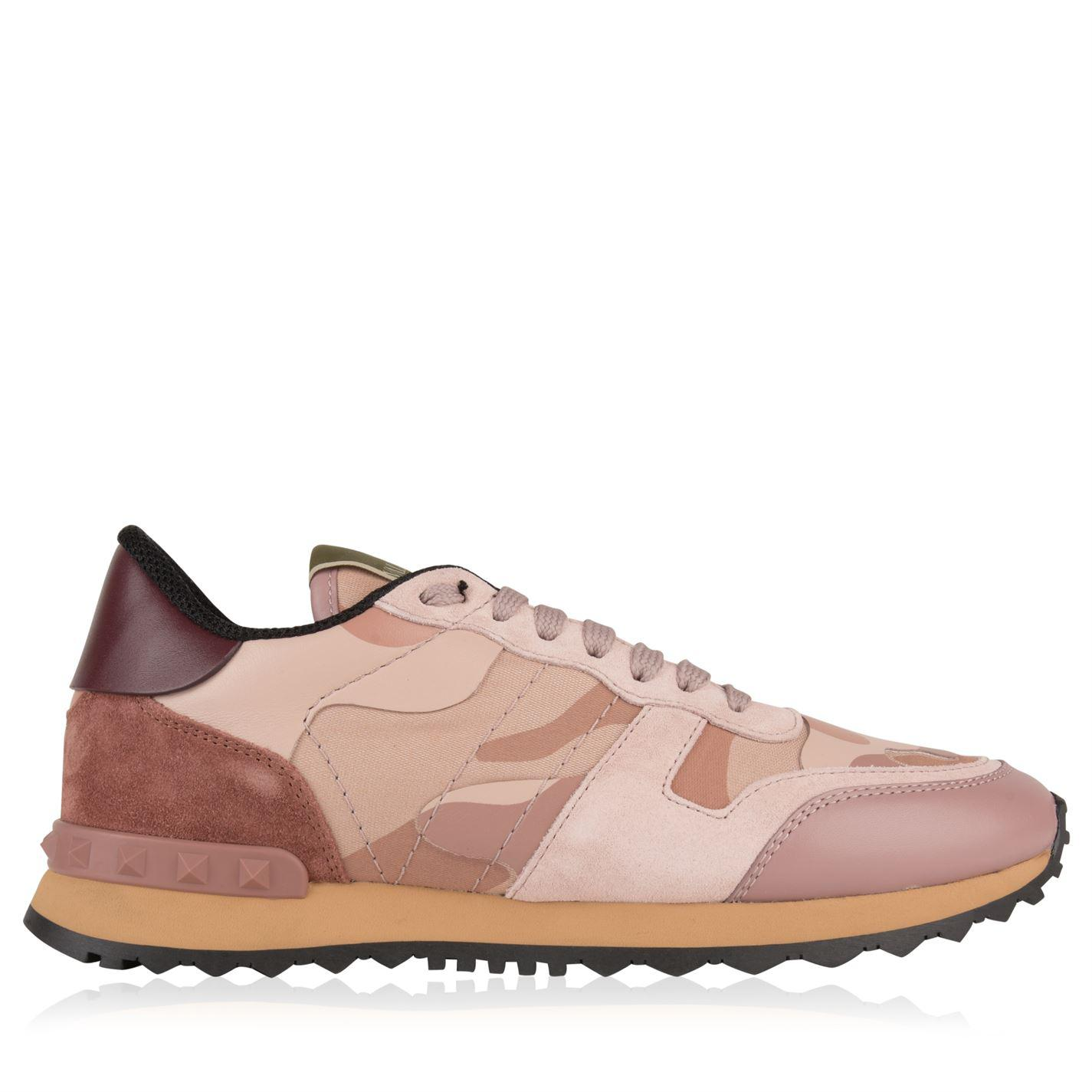 d11f81c41304e Lyst - Valentino Rockrunner Sneakers in Pink - Save 30%