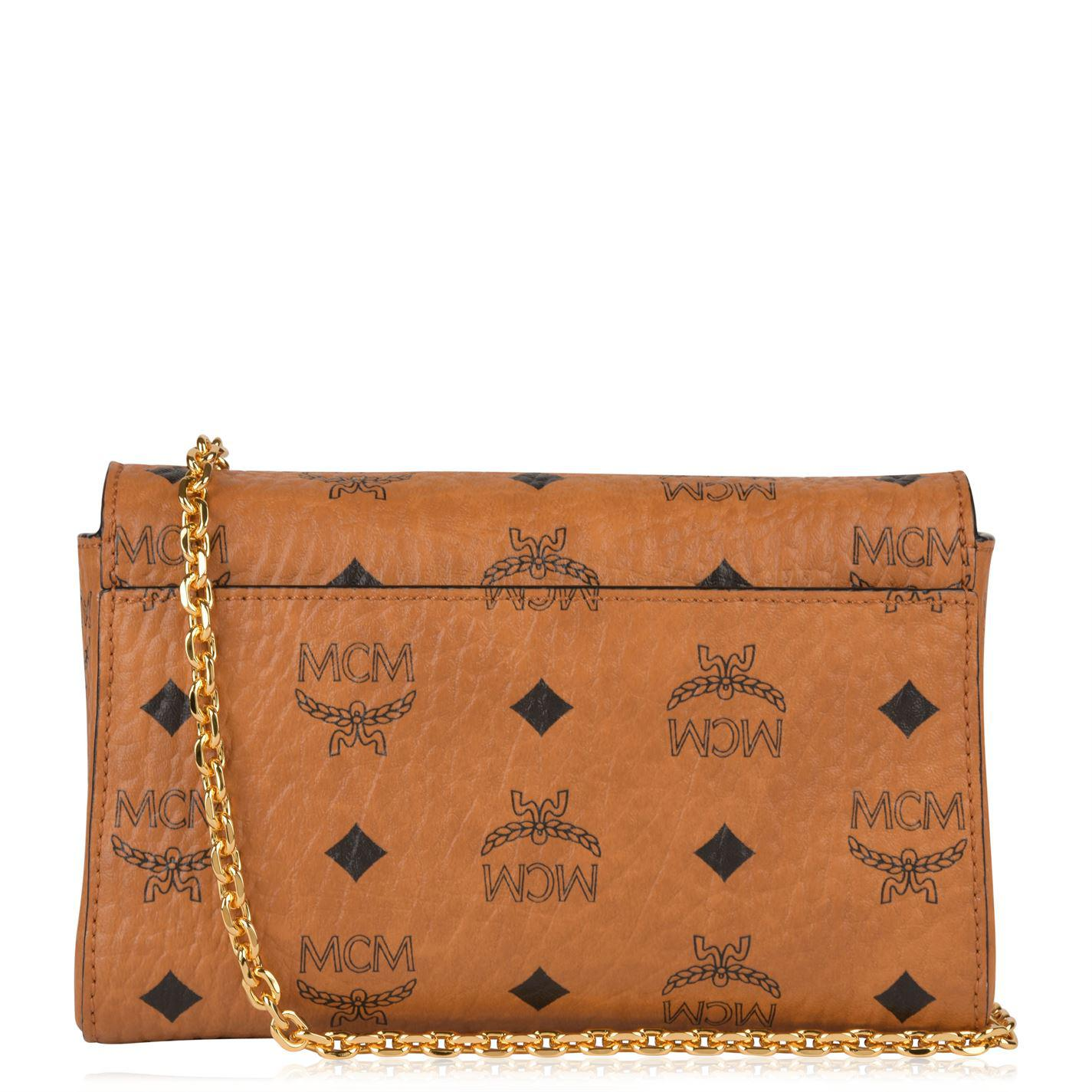 ad426c360 MCM Millie Small Crossbody Bag in Brown - Lyst
