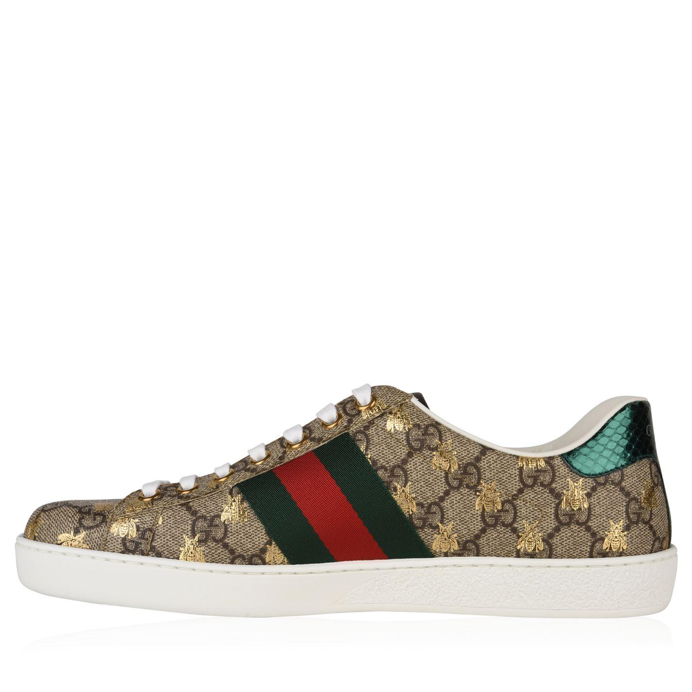 f5d6a0c0fcf Lyst - Gucci New Ace Bee Gg Trainers for Men