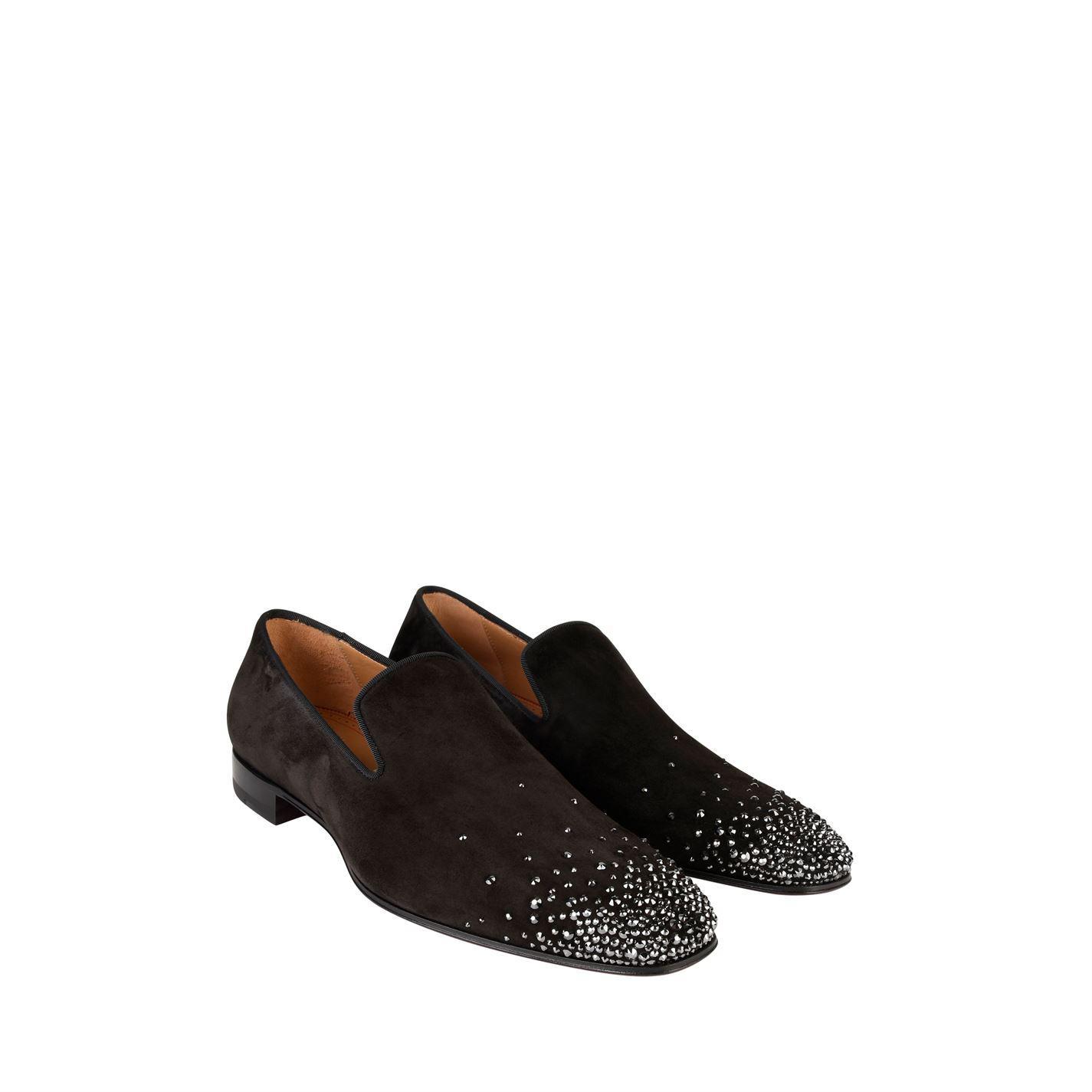 22d9d052e178 Christian Louboutin - Black Dandelion Loafers for Men - Lyst. View  fullscreen
