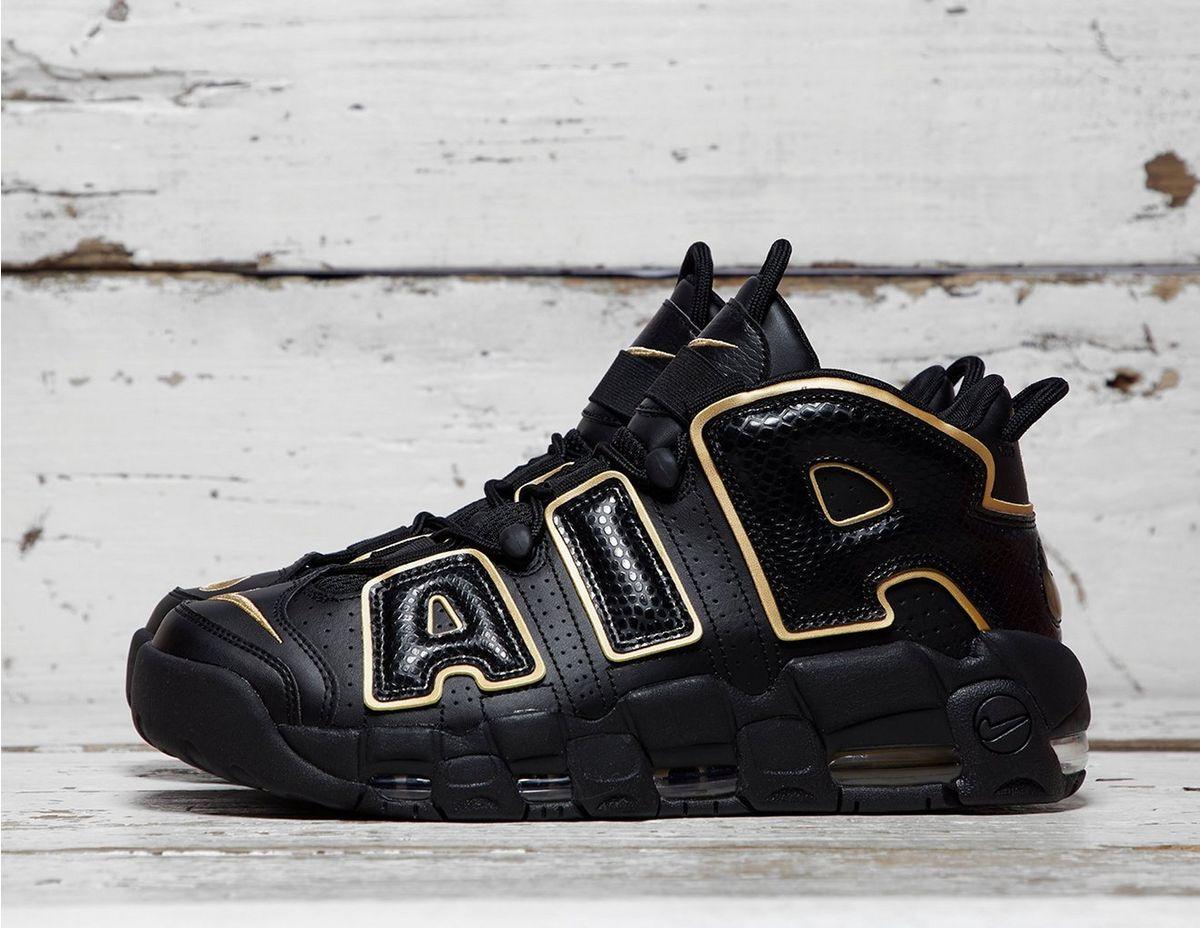 reputable site 72620 86ac8 Nike. Men s Black Air More Uptempo 96   ...