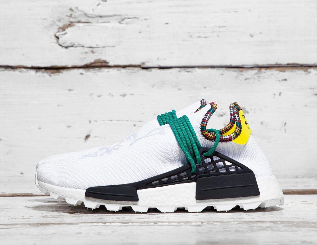 82e5e9cd8 Adidas Originals - White By Pharrell Williams Solarhu Nmd  inspiration  for  Men - Lyst