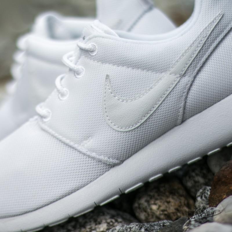 6e98490a0452 Lyst - Nike Roshe One (gs) White  White-wolf Grey in Gray for Men
