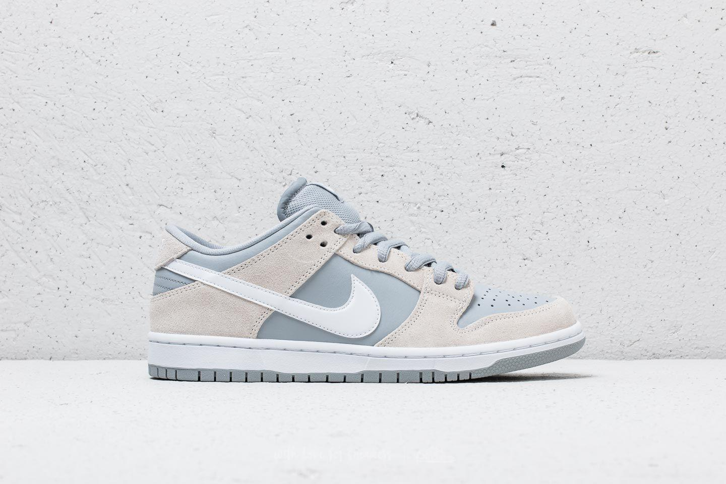 competitive price 37cec a5894 Lyst - Nike Sb Dunk Low Trd Summit White White-wolf Grey in