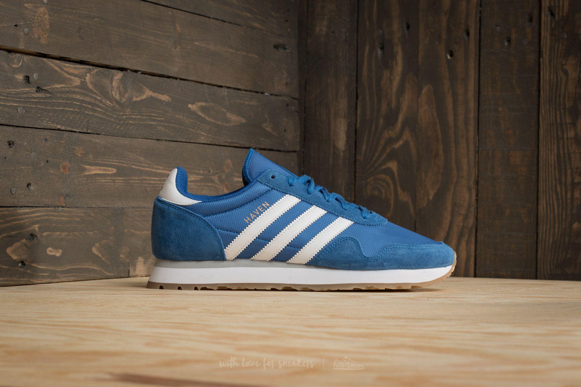 Lyst - adidas Originals Adidas Haven Blue  Footwear White  Gum in ... 124553df77