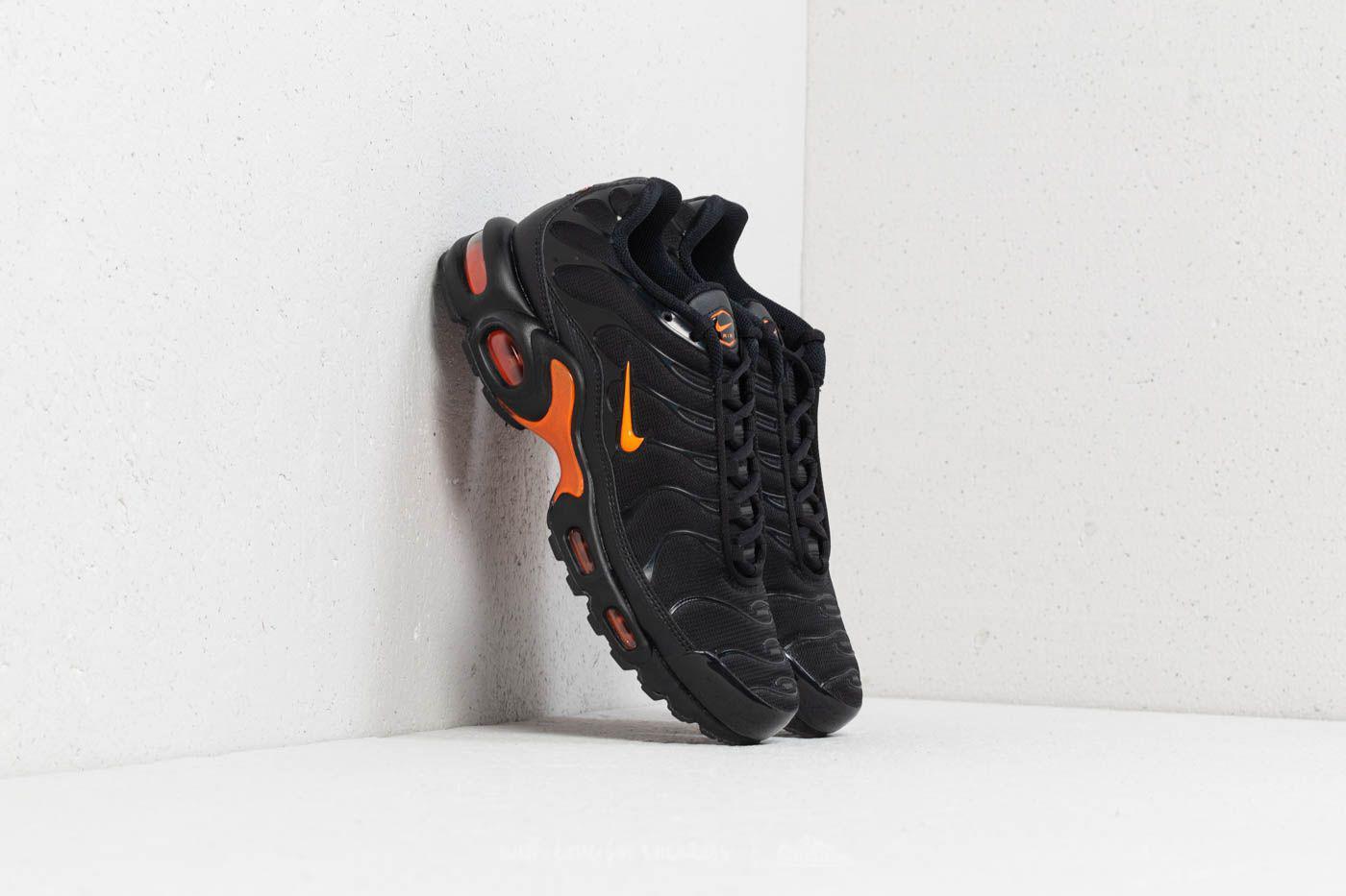 super popular ac69c 7864b Nike Air Max Plus Tn Se Black  Total Orange in Black for Men - Lyst