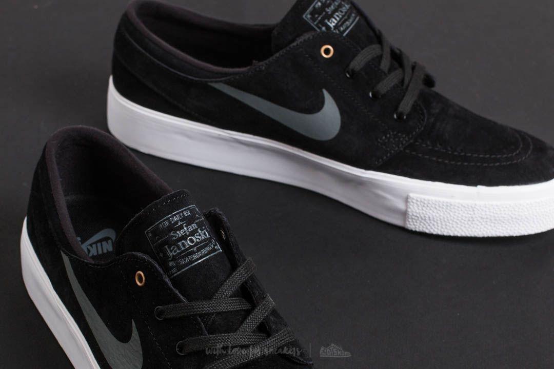 afa01fa862fb Lyst - Nike Sb Zoom Janoski Ht Black  Dark Grey-metallic Gold in ...