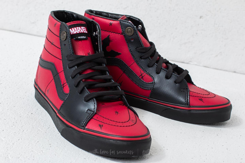 Lyst - Vans Sk8-hi (marvel) Deadpool  Black for Men 3c7ba670e