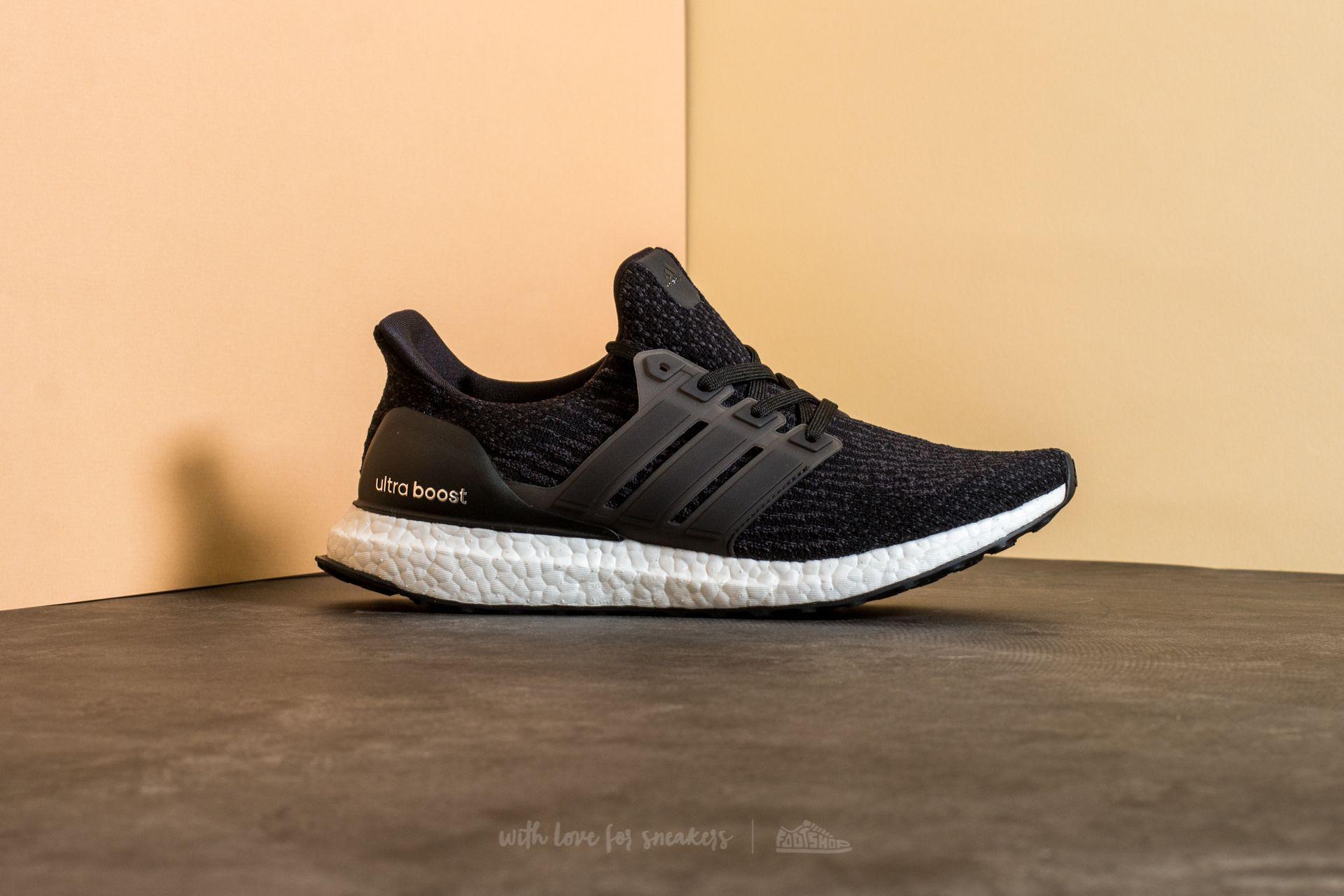 18a38a5f103 Lyst - Footshop Adidas Ultra Boost W Core Black  Dark Grey in Black