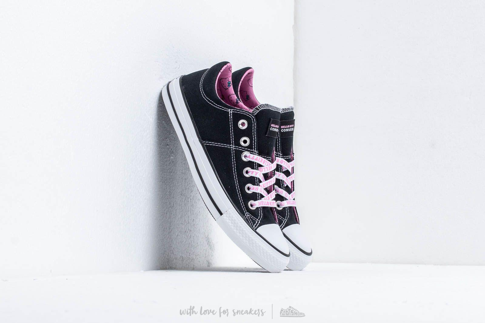 acd8a918ee Converse. Women s X Hello Kitty Chuck Taylor All Star Madison Black  Prism  Pink  White