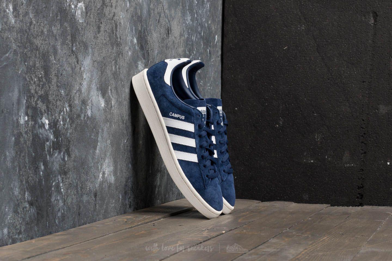 Lyst - adidas Originals Adidas Campus Dark Blue  Ftw White  Chalk ... 716d4d363
