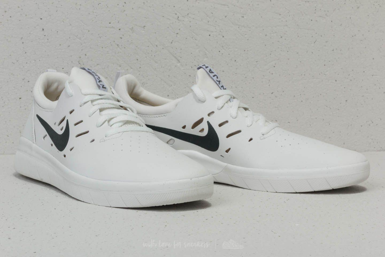 8df3683c62f569 Lyst - Nike Sb Nyjah Free Summit White  Anthracite in White for Men