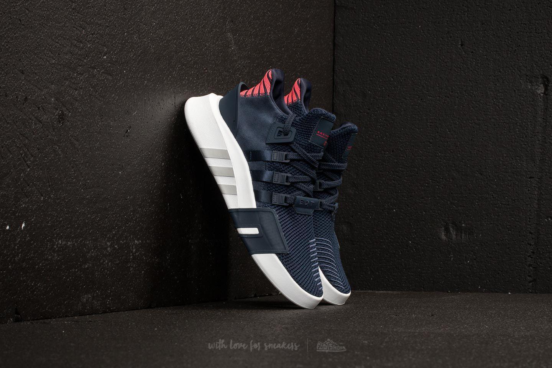 e522e614c4df Lyst - adidas Originals Adidas Eqt Bask Adv Collegiate Navy ...