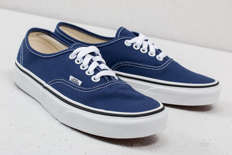 a720e2b82b Lyst - Vans Authentic Estate Blue  True White in Blue for Men
