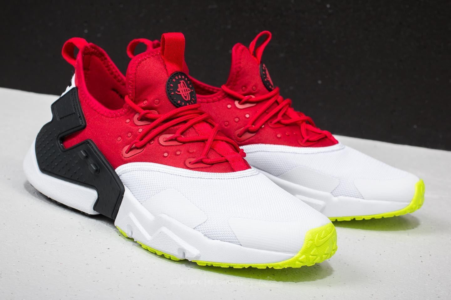 3413224a5c71 ... sweden lyst nike air huarache drift gym red white black volt in red for  men 4bac3