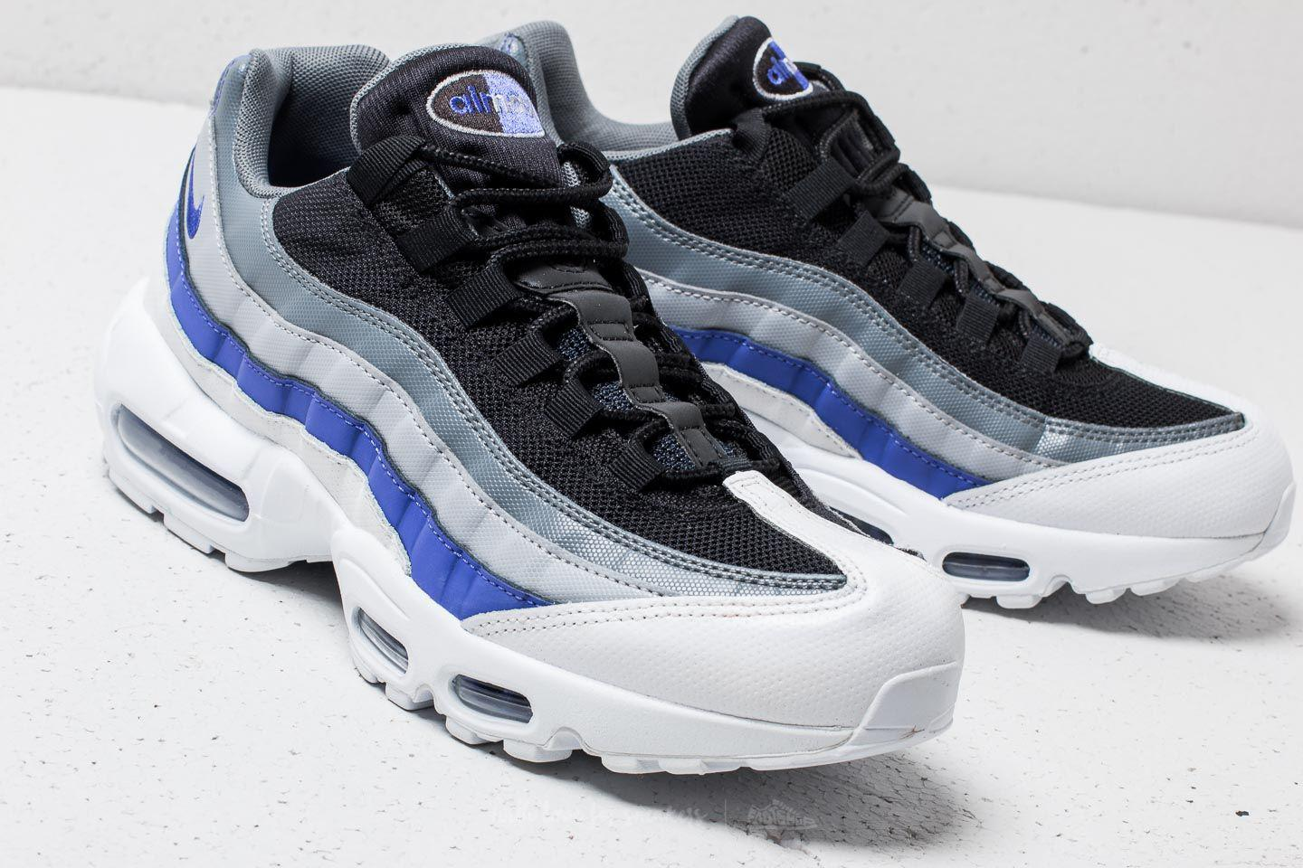 e50ddbe0707bb Lyst - Nike Air Max 95 Essential White  Persian Violet-cool Grey in ...