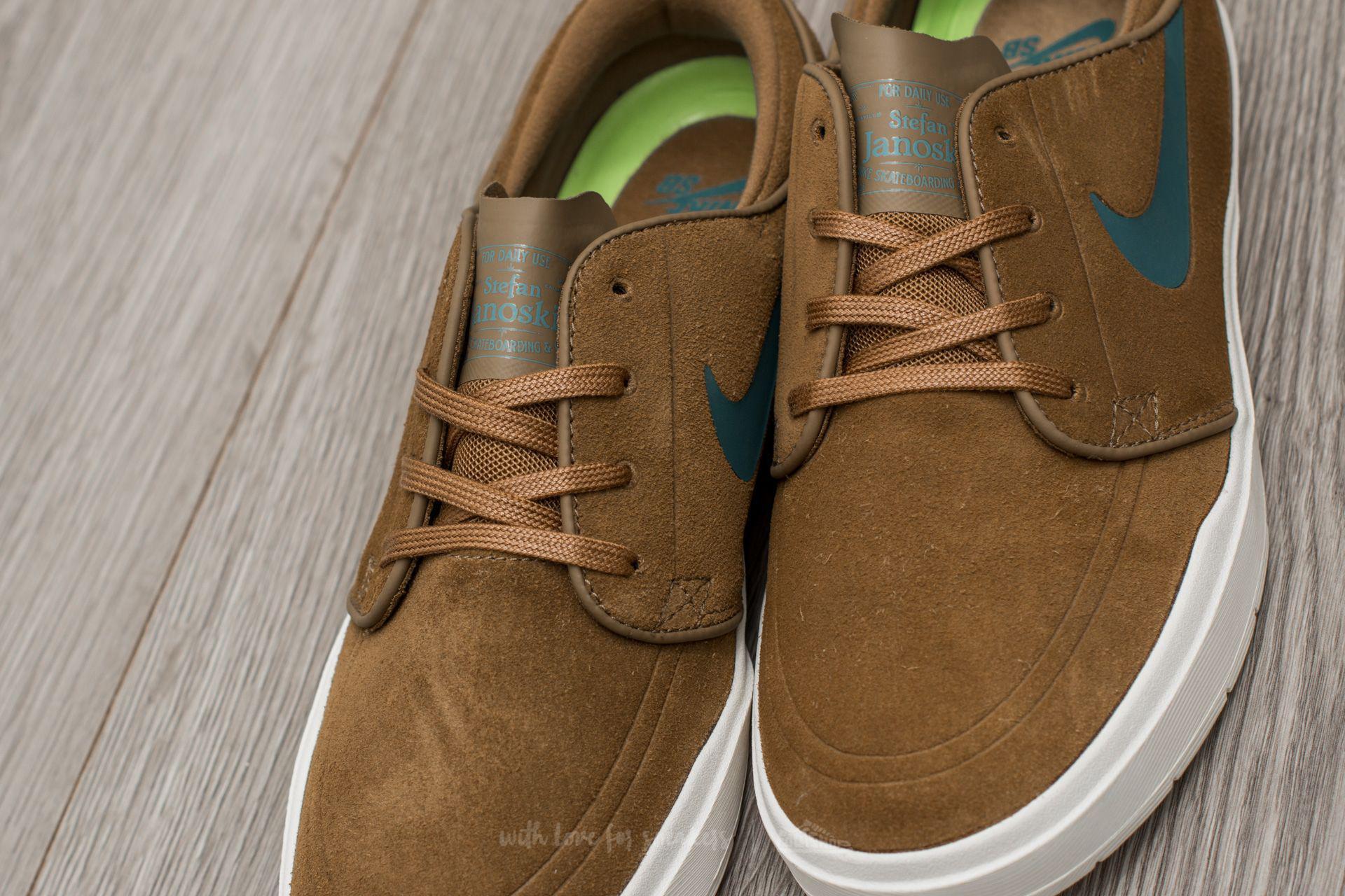 Nike Stefan Janoski Hyperfeel Golden Beige/ Sequoia-sail for Men - Lyst