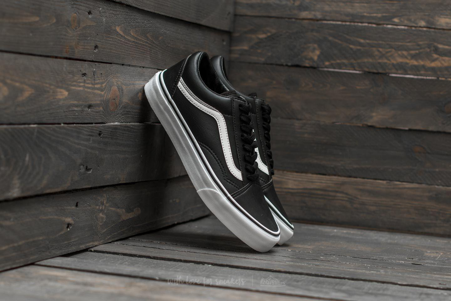 6c29400dc5 Lyst - Vans Old Skool (classic Tumble) Black  True White in Black ...