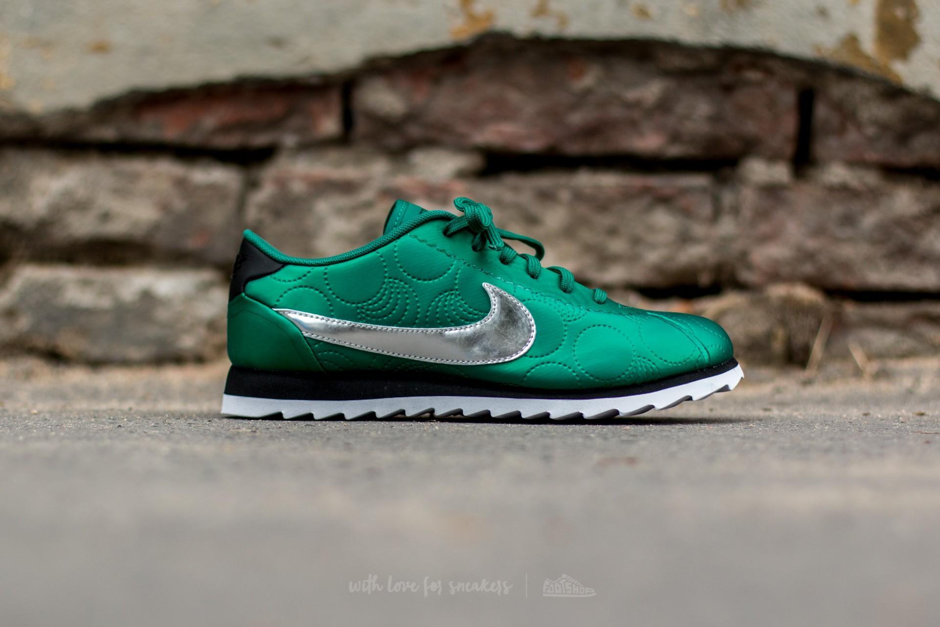 5e8dd7aab6d9 Lyst - Nike W Cortez Ultra Lotc Qs Mystic Green  Black in Green