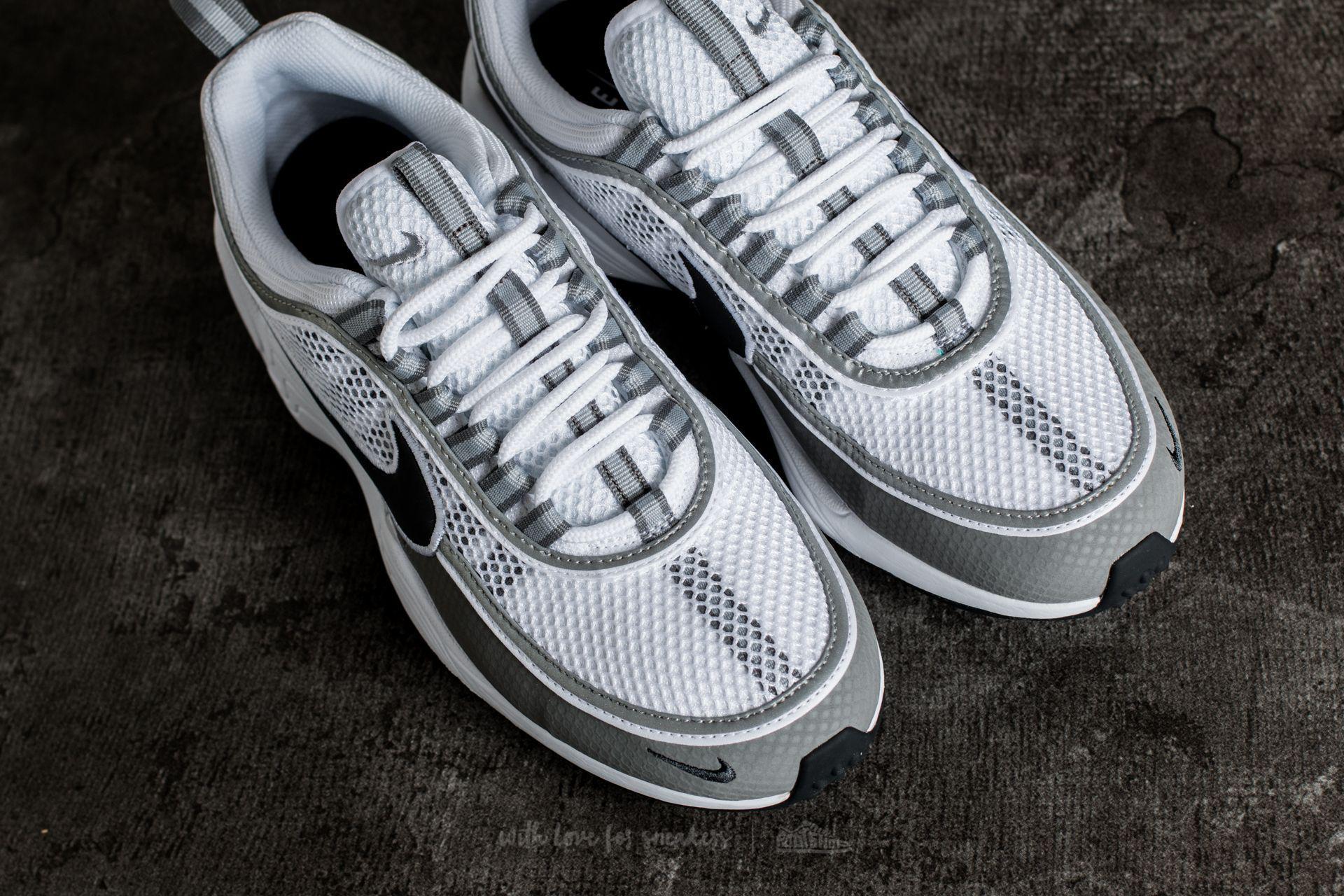 0032ab8008ca Lyst - Nike Air Zoom Spiridon White  Black-light Ash for Men