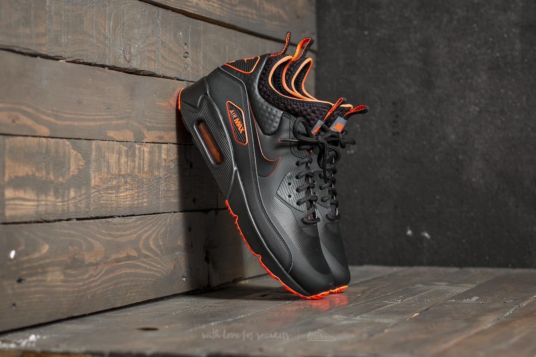 Lyst - Nike Air Max 90 Ultra Mid Winter Se Black  Black-total ... a80249a24