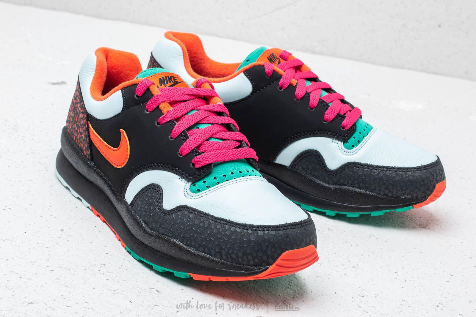 4dd678ebe3f366 Nike - Air Safari Supreme Black  Team Orange for Men - Lyst. View fullscreen