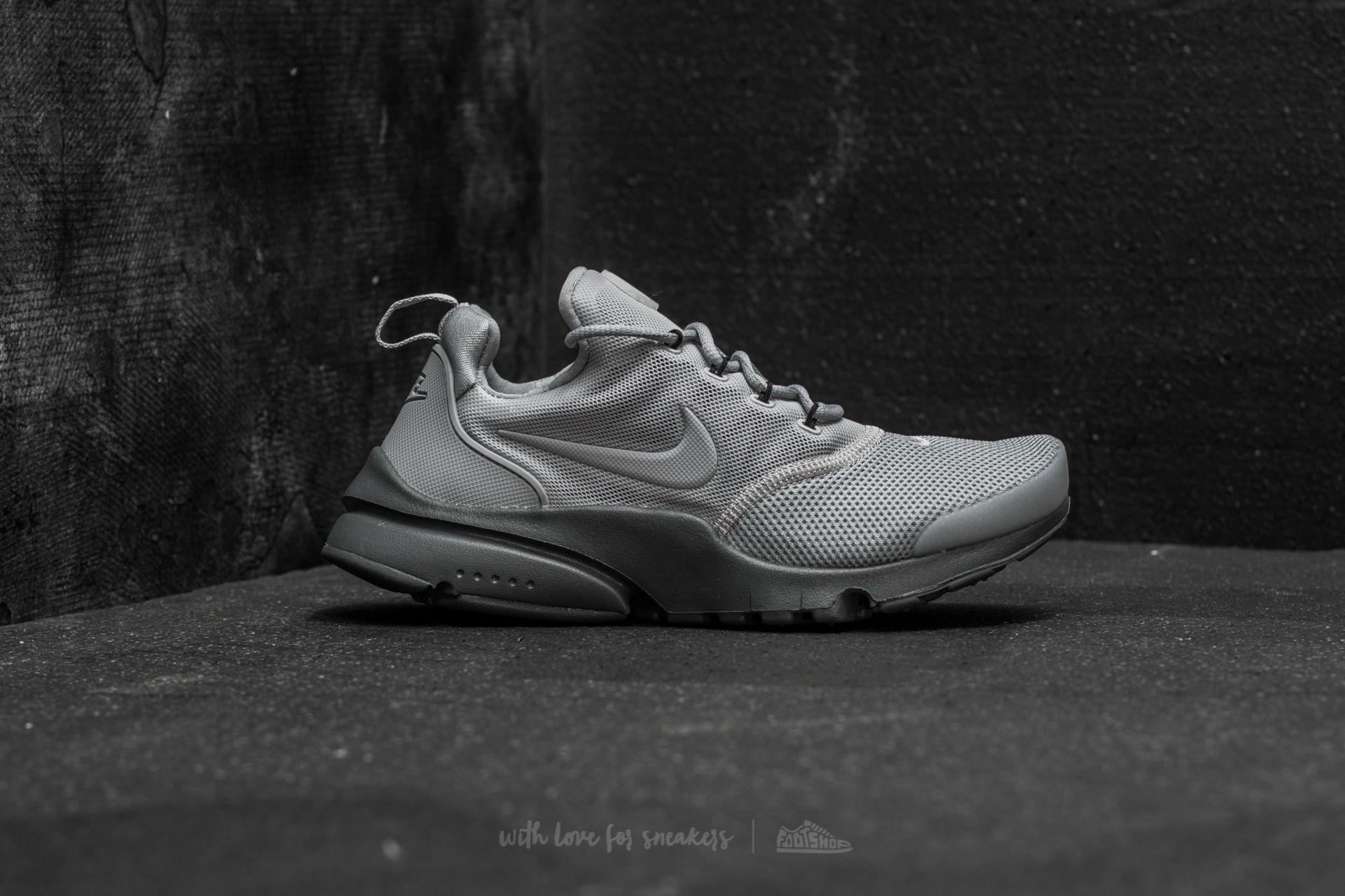 9b648cb04611 Lyst - Nike Presto Fly (gs) Wolf Grey  Wolf Grey-dark Grey in Gray ...